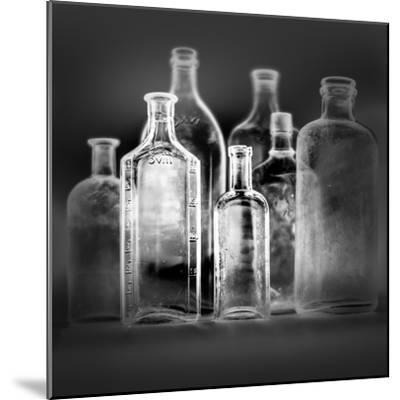 Glass Bottles-Moises Levy-Mounted Photographic Print