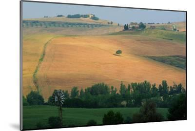 Tuscan Hill II-Robert Goldwitz-Mounted Photographic Print