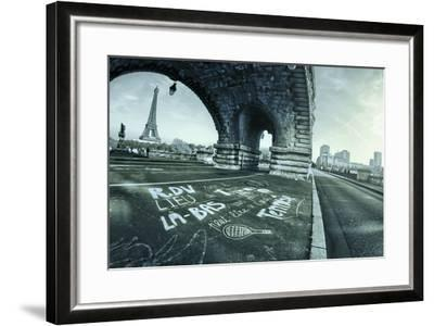 Paris Tennis-Sebastien Lory-Framed Photographic Print