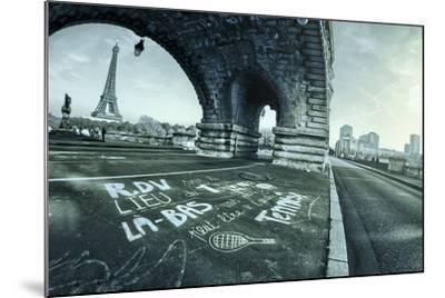 Paris Tennis-Sebastien Lory-Mounted Photographic Print