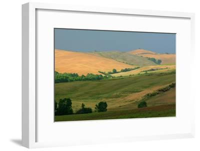 Tuscan Hill I-Robert Goldwitz-Framed Photographic Print