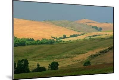 Tuscan Hill I-Robert Goldwitz-Mounted Photographic Print