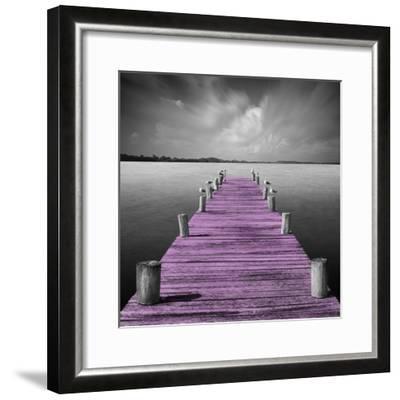 Tierra Desnuda - Pop Pink-Moises Levy-Framed Photographic Print