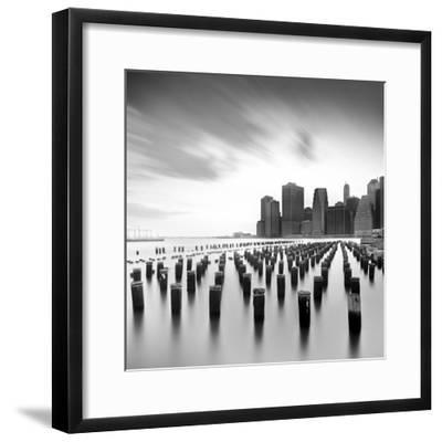 Mahattan Skyline 2-Moises Levy-Framed Photographic Print