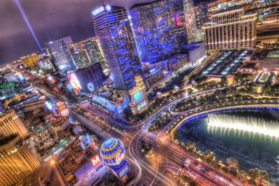 Vegas II-Moises Levy-Framed Photographic Print