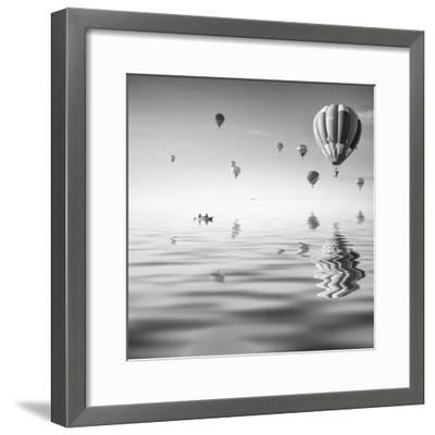 Love is in Air VII-Moises Levy-Framed Photographic Print