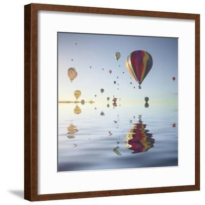 Love is in Air VI-Moises Levy-Framed Photographic Print