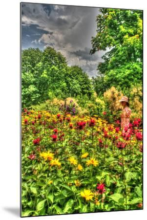 Model Release Garden Vertical-Robert Goldwitz-Mounted Photographic Print