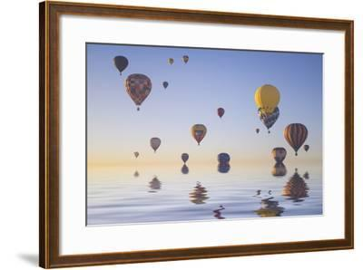 Love is in Air IV-Moises Levy-Framed Photographic Print