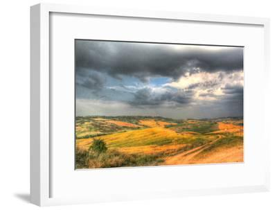 Tuscan Storm II-Robert Goldwitz-Framed Photographic Print