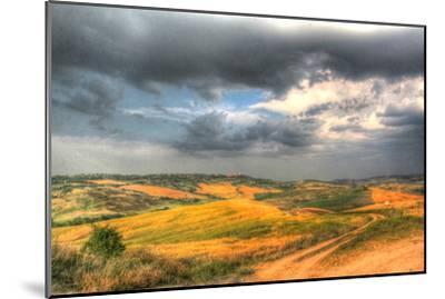 Tuscan Storm II-Robert Goldwitz-Mounted Photographic Print