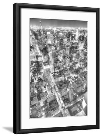 Gotham City 1-2-Moises Levy-Framed Photographic Print