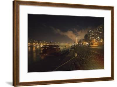 Moody Eiffel-Sebastien Lory-Framed Photographic Print