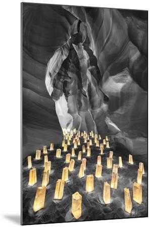 Candle Canyon BW - Pop-Moises Levy-Mounted Photographic Print
