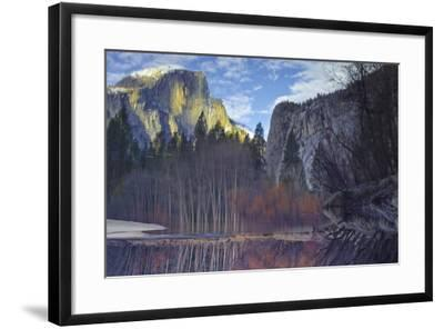 Yosemite Reflection 2 Color-Moises Levy-Framed Photographic Print