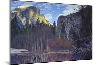 Yosemite Reflection 2 Color-Moises Levy-Mounted Photographic Print