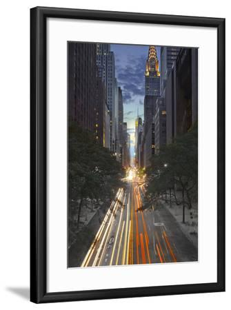 New York City, Empire State Building-Moises Levy-Framed Photographic Print