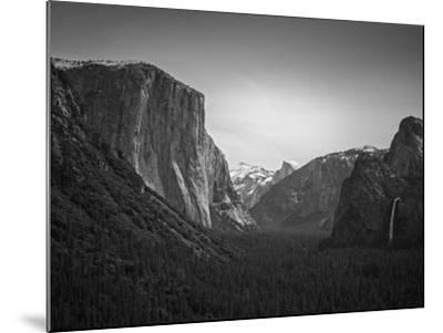 Tunnel View BW 2-Moises Levy-Mounted Photographic Print