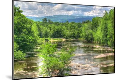 Wallkill Bridge Mountain View-Robert Goldwitz-Mounted Photographic Print