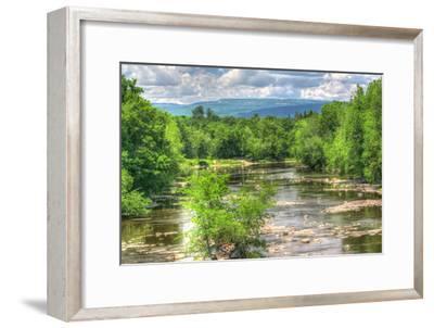 Wallkill Bridge Mountain View-Robert Goldwitz-Framed Photographic Print
