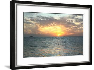Key West Sunset VII-Robert Goldwitz-Framed Photographic Print