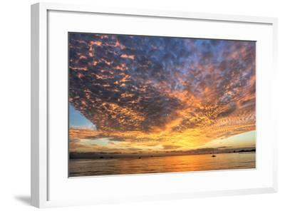 Key West Hobie Sunset-Robert Goldwitz-Framed Photographic Print