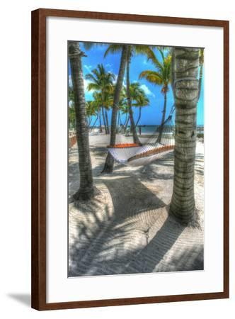Higgs Beach Hammock-Robert Goldwitz-Framed Photographic Print