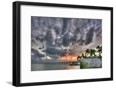 Key West Sunset IX-Robert Goldwitz-Framed Photographic Print