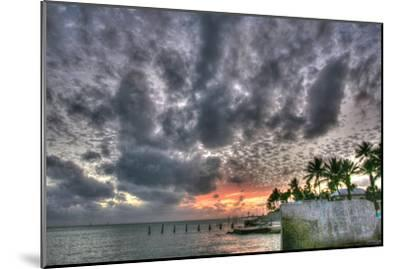 Key West Sunset IX-Robert Goldwitz-Mounted Photographic Print