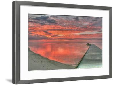 Red Higgs Sunrise-Robert Goldwitz-Framed Photographic Print