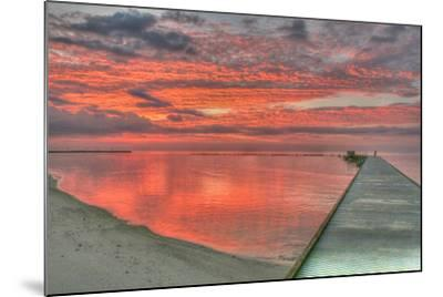 Red Higgs Sunrise-Robert Goldwitz-Mounted Photographic Print