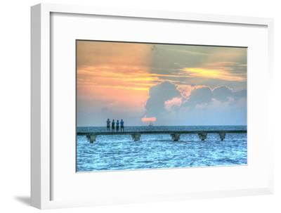 Sunset Witness-Robert Goldwitz-Framed Photographic Print