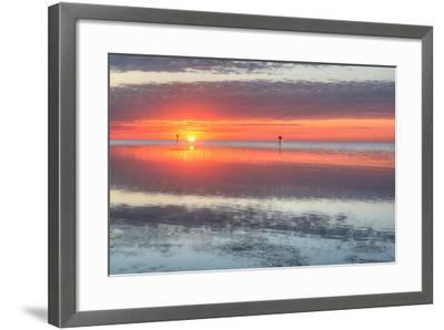 Key West Sunrise III-Robert Goldwitz-Framed Photographic Print