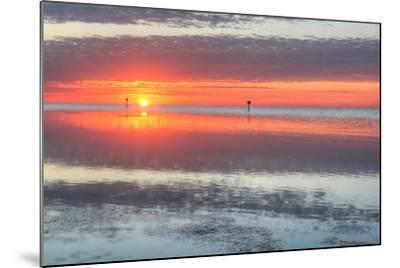 Key West Sunrise III-Robert Goldwitz-Mounted Photographic Print