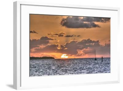 Key West Sunrise II-Robert Goldwitz-Framed Photographic Print