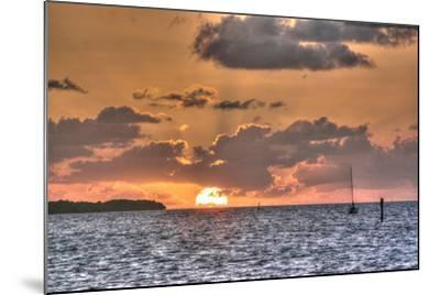 Key West Sunrise II-Robert Goldwitz-Mounted Photographic Print