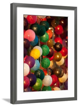 Colorful Lights II-Erin Berzel-Framed Photographic Print