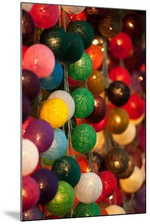 Colorful Lights II-Erin Berzel-Mounted Photographic Print