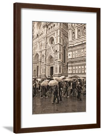 Streets of Florence I-Rita Crane-Framed Photographic Print
