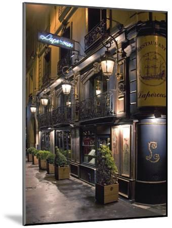 Paris Cafe III-Rita Crane-Mounted Photographic Print