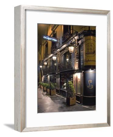 Paris Cafe III-Rita Crane-Framed Photographic Print