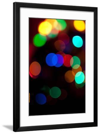 Colorful Bokeh-Erin Berzel-Framed Photographic Print