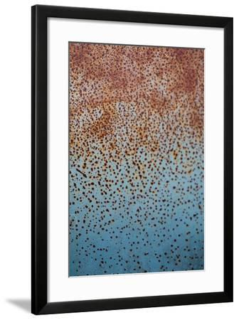 Rust on Antique Car 1-Erin Berzel-Framed Photographic Print
