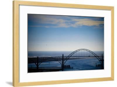 Yaquina Bay Bridge II-Erin Berzel-Framed Photographic Print
