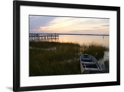 Sunset over the Channel 4-Alan Hausenflock-Framed Photographic Print