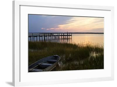 Sunset over the Channel 3-Alan Hausenflock-Framed Photographic Print