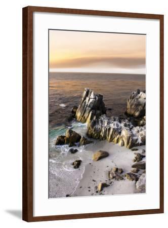 Lovers Point Sunset 5-Alan Hausenflock-Framed Photographic Print