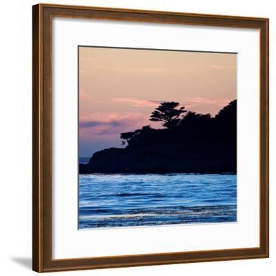 Carmel Sunset 5-Alan Hausenflock-Framed Photographic Print