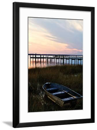 Sunset over the Channel 2-Alan Hausenflock-Framed Photographic Print