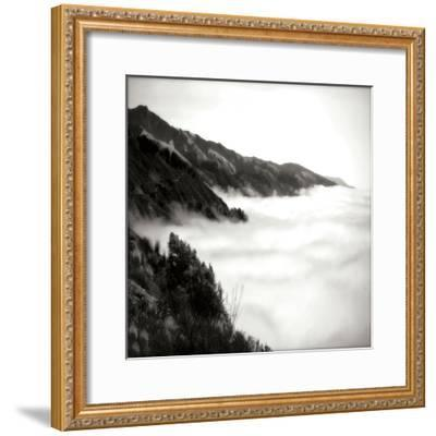 Pacific Fog Sq I-Alan Hausenflock-Framed Photographic Print